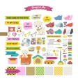 Dog stuff icons vector image vector image