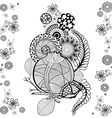 doodle 1 vector image vector image