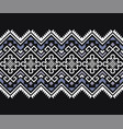 ethnic seamless pattern mexican geometric print vector image