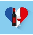 france and travel design vector image vector image