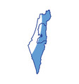 Map of israel