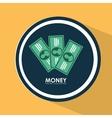 money bills design vector image vector image