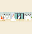 wedding shop vector image