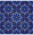 blue abstract mosaic vector image vector image