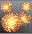 festive firework effect eps 10 vector image