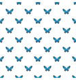 flying moth pattern seamless vector image vector image