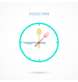 Food Time vector image vector image