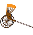 Rickshaw vector image