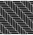 Black and white simple geo herringbone seamless vector image