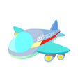 icon airplane vector image vector image