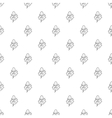 Leaves pattern simple style vector image