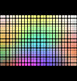 light rainbow abstract rounded mosaic background vector image vector image