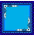 picture frames color for your web design vector image vector image