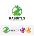 Rabbit logo design