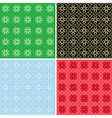 set of colorful patterns for background vector image vector image