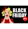 Black Friday 9 vector image