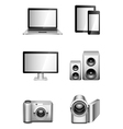 Computers and electronics vector image
