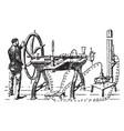 gas liquidation vintage vector image vector image