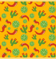 mexican pattern design vector image vector image