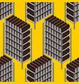 mining farm seamless pattern mining rig gpu vector image vector image