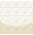 Polka dot background pattern pastel dot on white vector image vector image