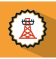 tower energy vector image