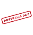Australia Day Text Rubber Stamp vector image vector image