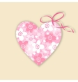 cute wedding birthday card invitation vector image