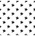dove pattern vector image vector image