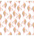 floral seamless background pattern vector image vector image