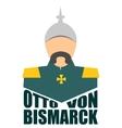 German infantryman World war Otto von Bismarck vector image vector image