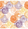 grunge red spiral seamless vector image