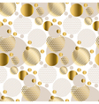 repeatable motif for festive wrapping paper vector image vector image
