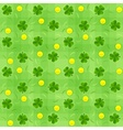 Saint patricks day seamless vector image vector image