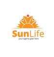 Sun Life Logo vector image vector image