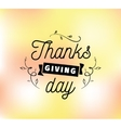 thanksgiving day typography set vector image vector image