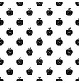 time apple pattern seamless vector image vector image