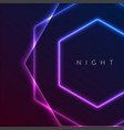 abstract night party banner in glamour design vector image