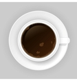 Coffee cap vector image