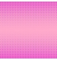 Pink Halftone Patterns vector image vector image