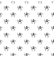 Robot pattern simple style vector image