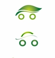 Set of Safety eco cars art vector image vector image