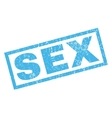 Sex Rubber Stamp vector image vector image
