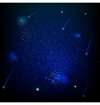 Space abstract star field EPS 10 vector image vector image