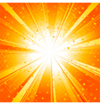 sun ray burst vector image