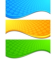 Vector bright banners