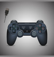Gamepad Joystick Joystick game console Realistic vector image