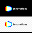 innovations company light spectrum icon vector image vector image