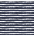 Marine rope line seamless pattern vector image vector image