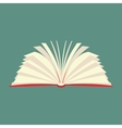 New book flat icon vector image